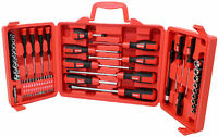 60PC Combination Screwdriver Set Storage Case Hex Skank Pozi Spanner Marksman