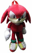 Sonic the Hedgehog Doll Plush Backpack - Knuckles Red (20 Inch)