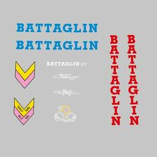 Battaglin Giro Bicycle Decals, Transfers, Stickers - White n.205