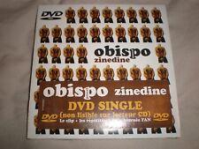 cd single obispo zinedine (dvd single) neuf sous blister