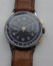 Junghans 88  Vintage Chronograph from 1950's Period box and strap fully restored