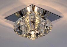 Modern Small Crystal Pendant Lamp Lighting LED Chandelier Fixture Ceiling Light