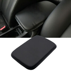 Leather Car Armrest Pad Center Console Cushion Mat Cover Protector Accessory