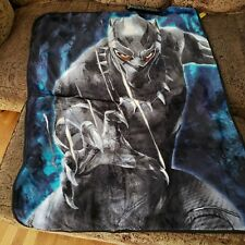 Marvel Black Panther Soft Throw 40'x50'