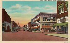 Main Street Looking North in Jonesboro AR Postcard