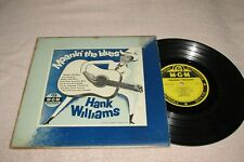 "10"" LP - Hank Williams - Moanin' The Blues - MGM E-168 - 10"" LP - 8 songs"