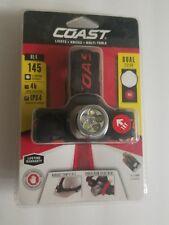 Coast HL4 145 Lumen Dual Color LED Headlamp New + Batteries Included