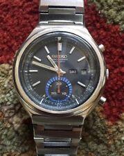"Vintage Seiko Automatic Chronograph 6139-7060 ""Blue Eye"" Arabic Day Date"