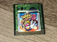 Wario Land 3 Nintendo Game Boy Color Tested Battery Saves Authentic