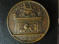 King Richard I Jean Dassier medal 1730s 40.1mm 30.68g England