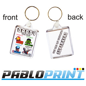 New Keyrings Fathers Day Daddy Dad  Avengers Marvel Superhero gift birthday