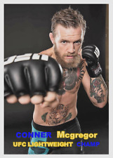 CONNER McGREGOR 57 ACEO ART CARD ## BUY 5 GET 1 FREE ## or 30% OFF 12 OR MORE