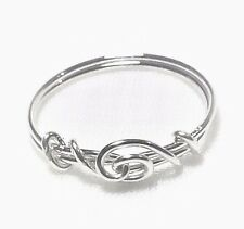 Thumb Ring .925 Sterling Silver  Love Knot Design sizes 5 - 12 half sizes