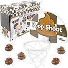 Poop Shoot - The Hilarious Toilet Humor Novelty Game Poo Emoji Gag Gift Set