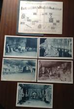 More details for poland wieliczka salt mine 5 postcards & diagram for tourists mid 1920s