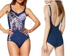 Triumph Costume da bagno donna intero imbottito senza ferretto,snellente piscina