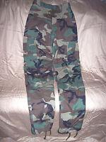 Genuine Military BDU Pants XS Long Winter Woodland Camo Pants Army Pants Bdus