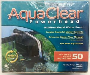 AquaClear Powerhead Multifunctional Water Pump for 30 to 50 Gallon Aquariums