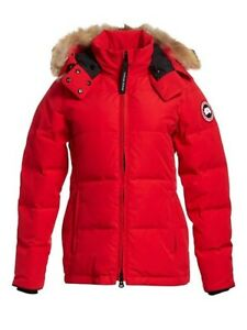 New Authentic Canada Goose Chelsea Parka Red Jacket Size Xs