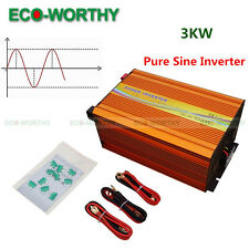 220V Off Grid Inverter 3000W 24V MPPT Function for Solar Panel Systems