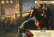 A Game of Thrones Card Game Marching Orders x1 FANTASY FLIGHT FFG Promo LCG