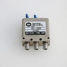 1pc Dow-key Microwave SPDT RF Coaxial Switch 401-2208 12V 18GHz SMA #J911