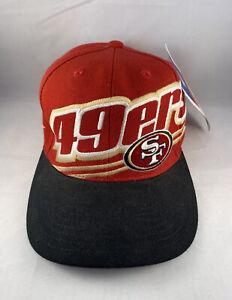 SF San Francisco 49ers Hat REEBOK NFL Pro Line Vintage Football Cap Adjustable
