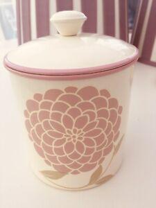 Laura Ashley Enamel Erin Tin /jar /storage