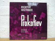 XID 5160 PROKOFIEV Violin con no1 Piano con no1 RICHTER OISTRAKH SAGA MONO LP EX