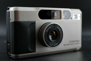 [Mint] CONTAX T2D T2 D Point & Shoot 35mm Film Camera w/ Data Back From Japan