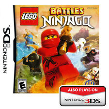 Lego Battles: Ninjago - Nintendo DS NEW AND SEALED