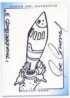 Thunderbirds Are Go! Movie Sketch Card by Joe Corroney Thunderbird #3