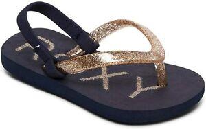 Roxy Sandalen Mädchen Kräftiges Sparkle Kleinkind Freizeit Strandschuhe