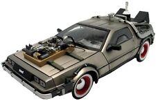 Modellino DieCast DeLOREAN LK Coupe dal film RITORNO AL FUTURO 3 Scala (B2r)