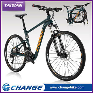 """Folding Bike 27.5 inch MTB Shimano 27S mountain DF-809G Size 17"""""""