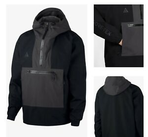 Nike ACG Gore-Tex Mens Paclite Jacket Size Large Black/Grey CK7234-010 MSRP $325