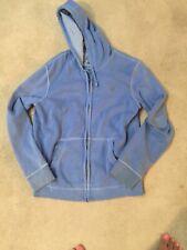 American Eagle Blue Hoodie Jacket Size M