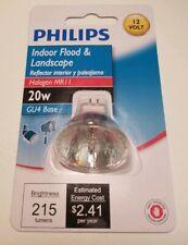 Philips Landscape Lighting & Indoor Flood 20W GU4 Base 12V Light