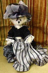 "OOAK Mohair Teddy Bear 13"" Fashion Lady Bear by Christy Firmage"