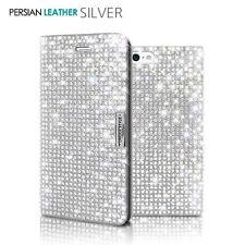 Bling Crystal Sparkle Diamond Glitter Wallet Flip Case Cover iPhone 5/6/S/7/Plus