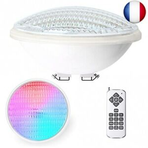 LEDMO 40W Lampe Piscine LED PAR56 Étanche IP68 Lampe de Piscine RGBW