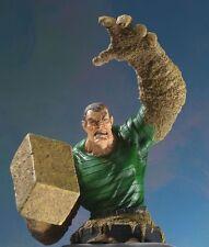 Bowen Designs SANDMAN mini bust/statue~Spider-Man villain~Avengers~NIB
