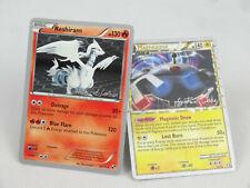 World Championship Megazone Gustavo Wada + Reshiram David Cohen Pokemon Card