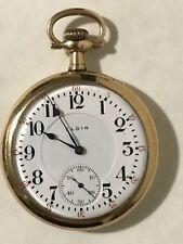 Scarce 1909 Elgin 16S 17J Grade 361 BW Raymond Railroad Pocket Watch 1,000 Made