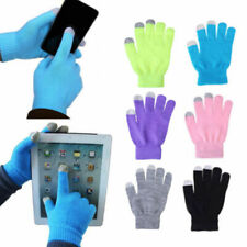 Winter Touch Gloves Wrist Wool Cashmere Smartphone Hand Warm Anti-static Screen