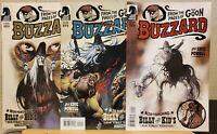 BUZZARD #1 2 3 (DARK HORSE) ERIC POWELL/ GOON/ BILLY THE KID