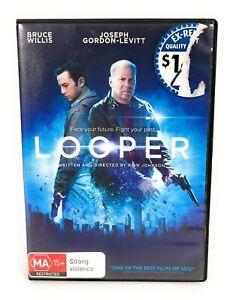 Looper (DVD 2012) Bruce Willis Region 4 Free Postage