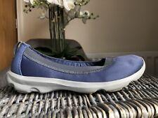 Crocs Ladies Blue Slip On Casual Shoes Pumps Size W7 UK 5