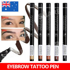 Microblading Tattoo Eyebrow Ink Pen Eye Brow Pencil Brow Enhancer Stencil AU