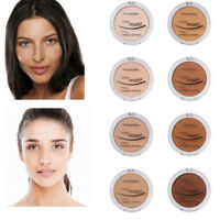 New 8 Colors Hydrating Powder Concealer Matte Pearl Finishing Pressed Powder